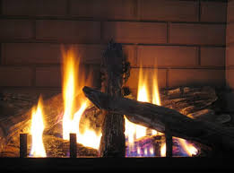 gas fireplaces are a close simulation of wood ones