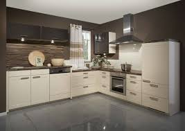 cream and brown kitchen designs