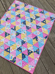 DIY baby quilt kits | SewMod & SewMod equilateral quilt kit Adamdwight.com