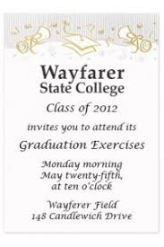 commencement invitations need help with graduation invitations wording start here
