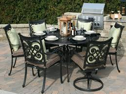 round outdoor dining table for 6 superb outdoor dining sets for 6 round table 66 round