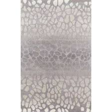 delhi silver 5 ft x 8 ft indoor area rug