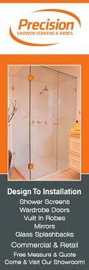 precision shower screens promotion