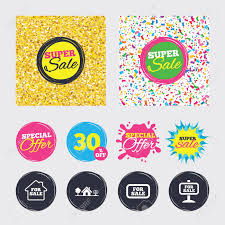 Selling Flyers Gold Glitter And Confetti Backgrounds Covers Posters And Flyers