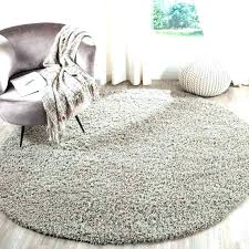 7 ft round rugs 5 foot round rug 6 light gray ft 7 in x