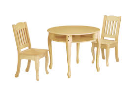 children s windsor round table and chairs set natural