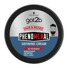 <b>Schwarzkopf got2b PhenoMENal Defining</b> Cream 100ml - Feelunique