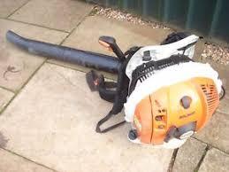stihl backpack blower. stihl br600 back pack leaf blower. backpack blower