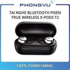 Tai nghe Bluetooth Pisen True Wireless X-Pods T2 - Bảo hành 18 tháng