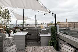 south philly roof deck kitchen