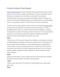 analysis essay sample  academic essay