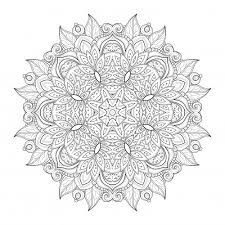 Small Picture Mandala advanced coloring pages ColoringStar