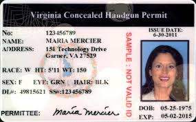 County Concealed Handgun Accomack Permits