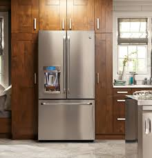 french door refrigerator in kitchen. Option Ge Refrigerators Design And Best Furniture For Your Kitchen Decor: 36 Inch French Door Refrigerator In P