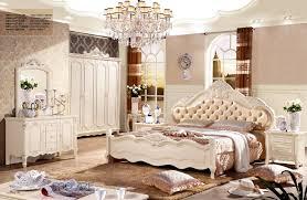 Foshan Fancy Leather design Bedroom Furniture sets bedroom bed
