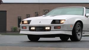 1986 Chevrolet Camaro IROC-Z--Midwest Auto Collection Video Review ...