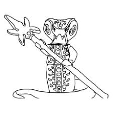 Ninjago Coloring Pages Snakes Color Bros