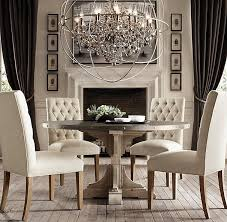 dining room crystal chandelier. Chic Orb Chandelier Dining Room 17 Best Images About Foucaults On Pinterest The Crystal S