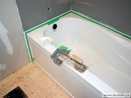 how to install tile around bathtub tiles installing the ceramic tile tub surround my old house