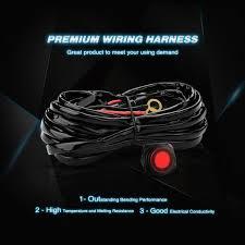 nilight 14awg heavy duty wiring harness kit 1 lead nilight led light nilight wiring harness Nilight Wiring Harness #18