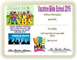 Vbs Certificate Template Certificates Breathtaking Vbs Certificate Template Ideas
