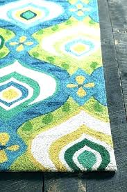 turquoise and yellow outdoor rug beige blue green area world menagerie rugs