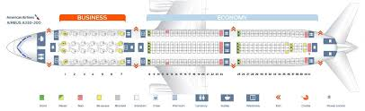 United Plane Seating Chart United Airlines Airbus A330 300 Seating Chart