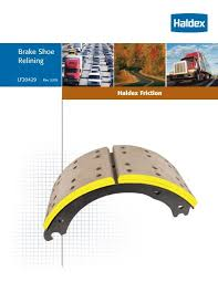 Haldex Brake Shoe Identification Chart Haldex Brake Shoes
