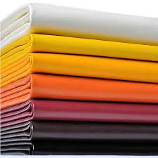 1.9mm <b>Thick</b> Soft <b>Leather</b> Pieces Upholstery Fabric For Sofa Car ...