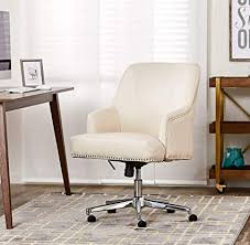 off white office chair. Serta Style Leighton Home Office Chair, Bonded Leather, Off-White Off White Office Chair S