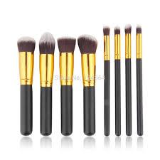 1pcs brand new 8pcs pack face eyeshadow nose foundation kit professional makeup cosmetic brushes set