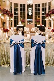 30 awesome wedding sign decor ideas for bride groom chairs wedding chairs navy blue wedding cakes and blue wedding colors