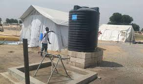 Image result for water scarcity in Maiduguri, Jere