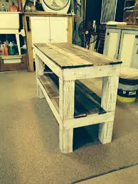 4x4 Wood Crafts Tv Entertainment Stand Made From Reclaimed Pallet Wood And A Few