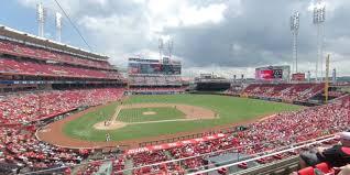 Cincinnati Reds Seating Chart Great American Ball Park Section 301 Cincinnati Reds