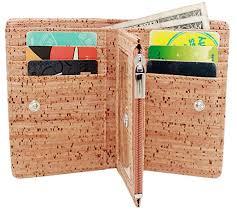 boshiho s zipper vegan wallet for men