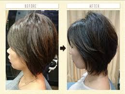 トップにボリュームが出る髪型のオーダー法について