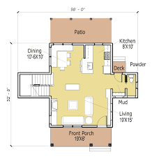 Modern One Bedroom House Plans Small One Level House Plans Cottage Style One Story House Plans