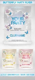 butterfly party flyer a design flyer template for any party the butterfly party flyer a design flyer template for any party the final package includes 1