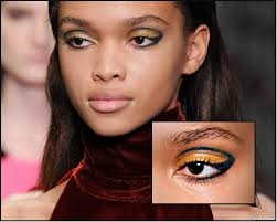 one of the makeup looks we noticed at london s a w fashion week was the