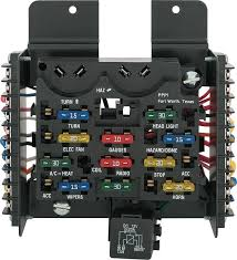 camaro parts electrical and wiring switches and fuses painless 14 circuit universal ato fuse block assembly