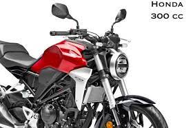 honda patents this 300 cc bike in india