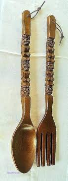 spoon and fork wall hanging fork spoon wall decor wooden spoon and fork wall decor beautiful