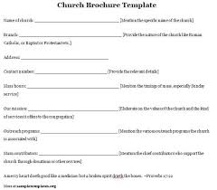 Templates For Church Programs Pastor Anniversary Program Templates Sample Church Template