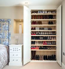 Shoe Rack Closet System For Back Of Door Storage Cabinets Hallway