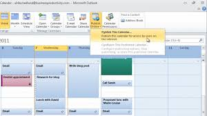 How To Share Your Calendar With External Business Partners Using