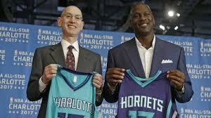 Charlotte Hornets owner Michael Jordan ...
