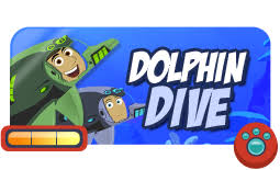 dolphin dive her run match photoshoot go cheetah go game