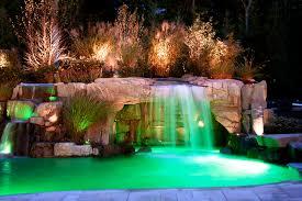 Backyard Swimming Pools Waterfalls Natural Landscaping NJ