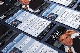 Iphone Business Card Business Card Templates Creative Market